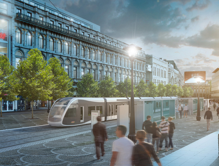 New tramway line to strengthen Liège's real estate market