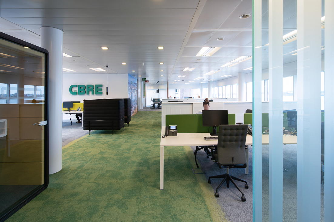 View of CBRE Belgium's Antwerp offices