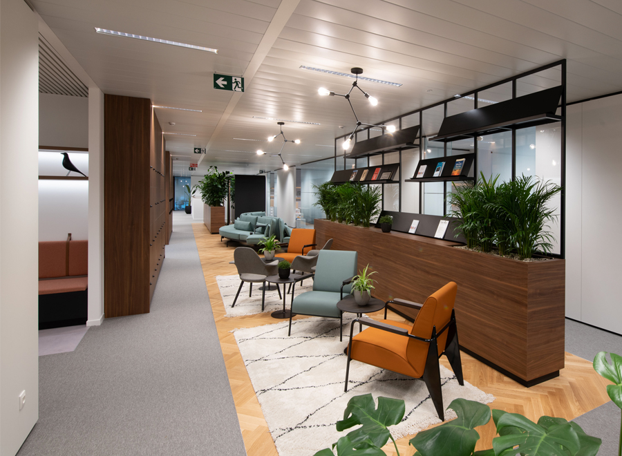 Education International's new Brussels offices designed by CBRE Belgium's Workspace team